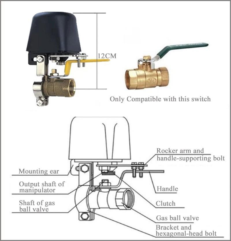نحوه عملکرد شیر برقی گاز