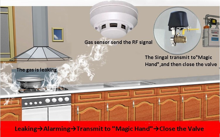سنسور گاز Geeklink Gas sensor