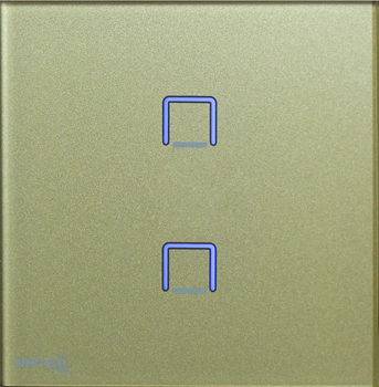 کلید دو پل نستک طلایی