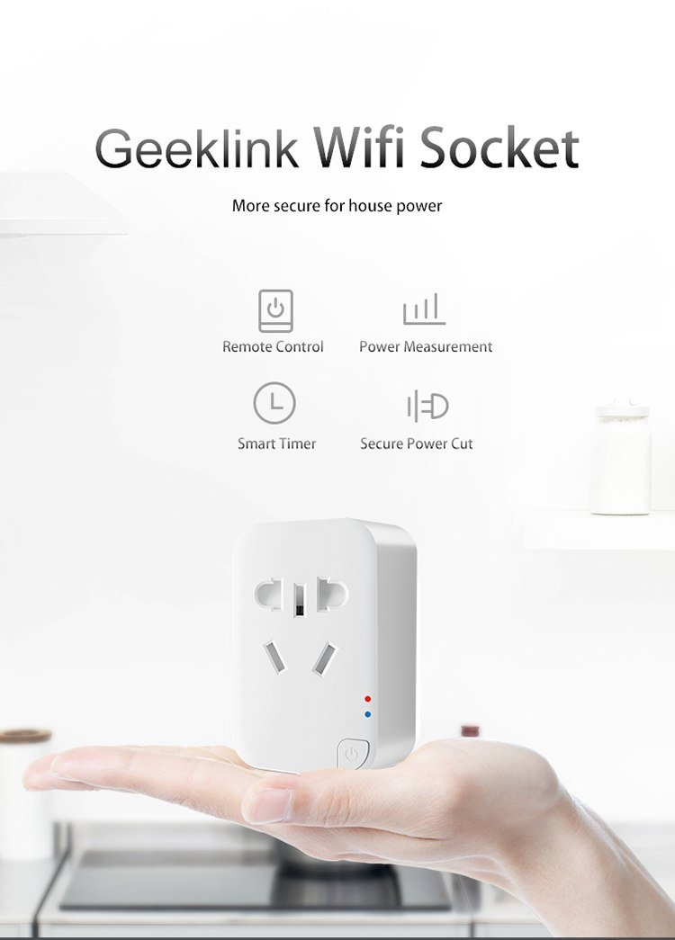 پریز وای فای Geeklink