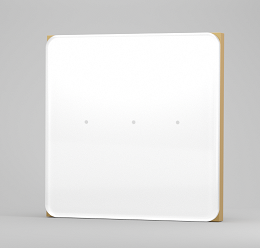 کلید سه پل هوشمند لایف اسمارت طرح Moonstone Lifesmart Moonstone smart switch