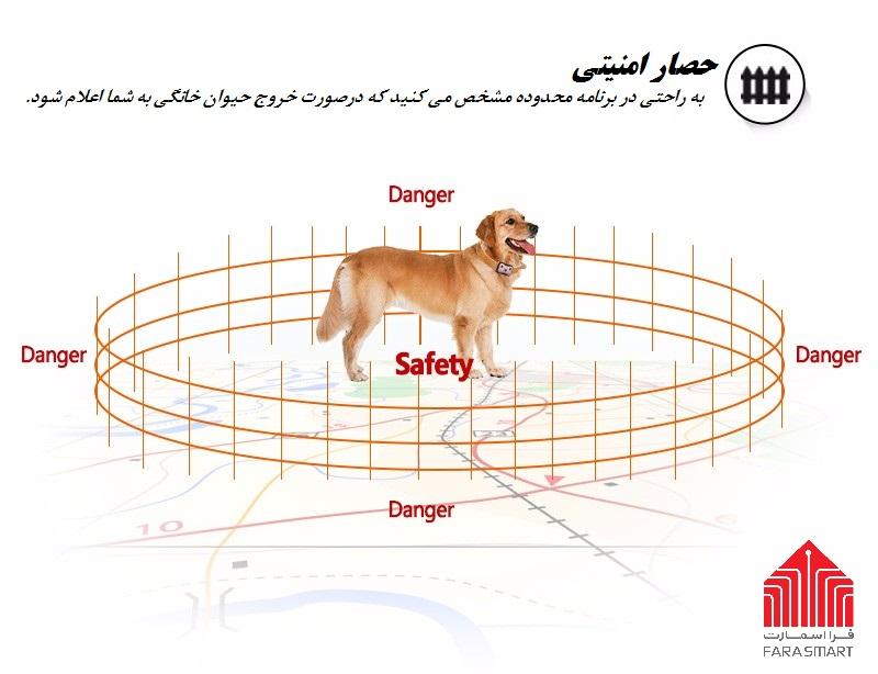 حصار امنیتی ردیاب حیوانات D69
