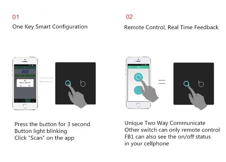 نحوه راه اندازی کلید هوشمند Geeklink