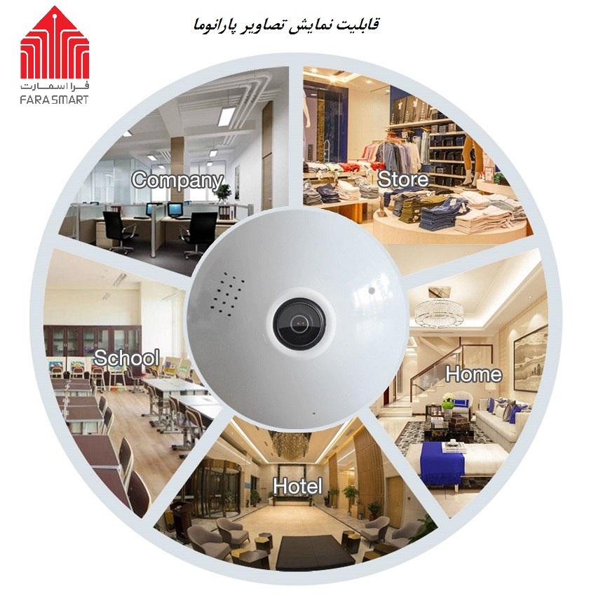 دوربین لامپی تحت شبکه