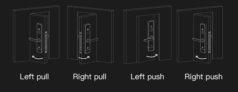 قفل درب هوشمند لایف اسمارت مدل Classic Lifesmart Door Lock