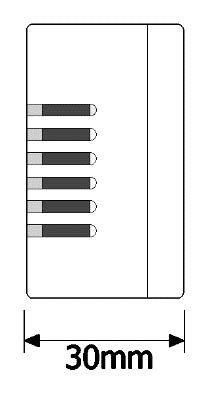 اندازه رله دو کانال وای فای آسانه