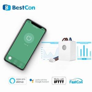 سوییچ کنترل برودلینک با اندازه گیری مصرف برق Bestcon SCB1E